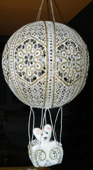 advanced embroidery designs freestanding lace air balloon ornament