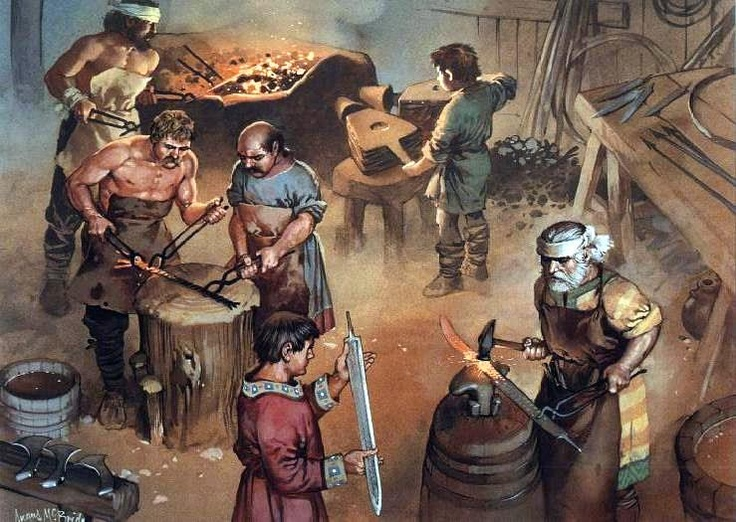 Frankish sword makers