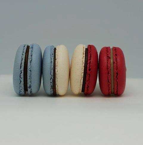 bastille day macarons #france #frenchflag