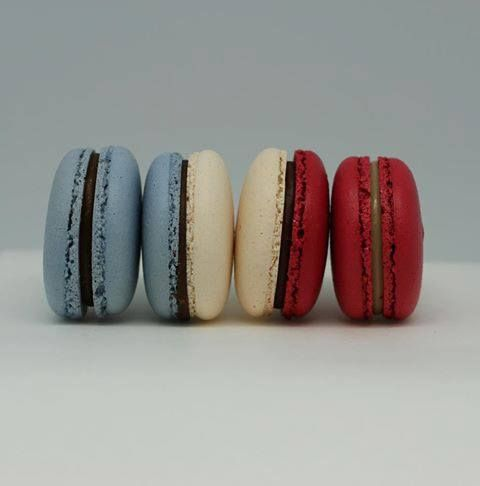 bastille day macarons #france #frenchflag