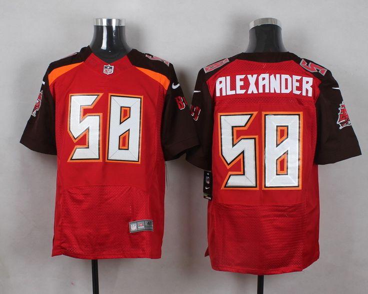 Men's NFL Tampa Bay Buccaneers #58 Kwon Alexander Red Elite Jersey