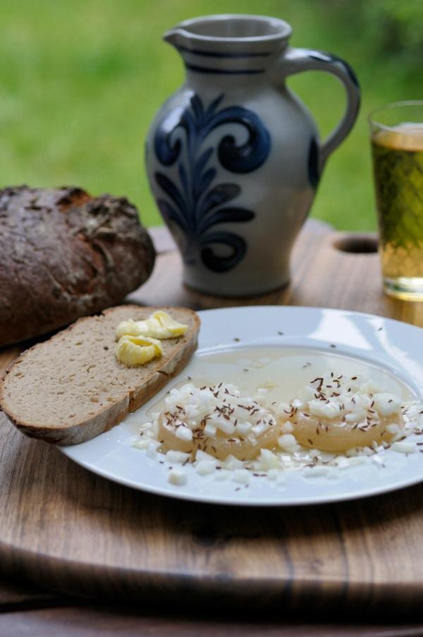 Handkäs mit Musik. A Hessian specialty, Handkäs mit Musik is a pungent sour milk…
