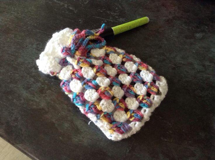 Crochet pouch