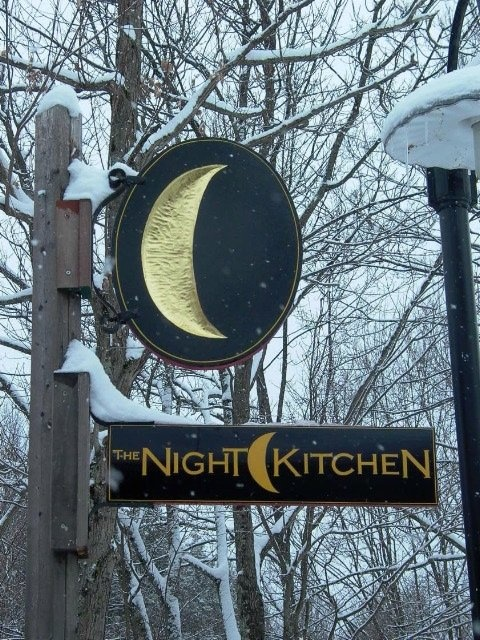 The Night Kitchen. Lovely restaurant in Montague MA (near Amherst).