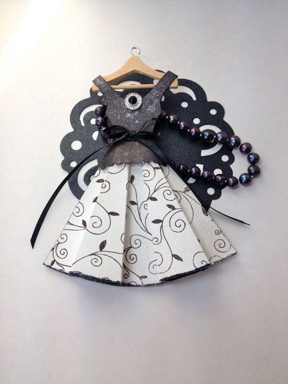 Art robe papier vacances parti robe de papier papier par PaperDoxie