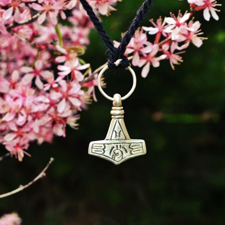 The original artifact - Mjolnir - was found on the Gotland island, Sweden, 10th century #viking #jewelry #mjolnir #thor #hammer #mojoviking