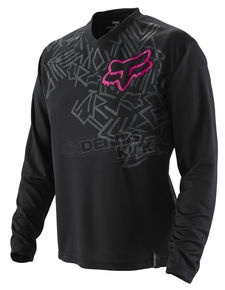 Fox Racing black jersey