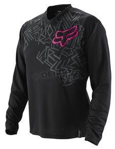 Fox Racing black jersey