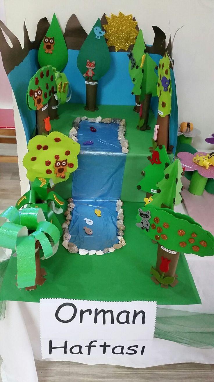 Orman haftası sanat etkinlik