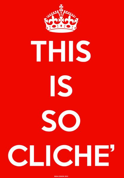 Keep clichè alive! by giuseppe amato on artflakes.com as poster or art print $16.63