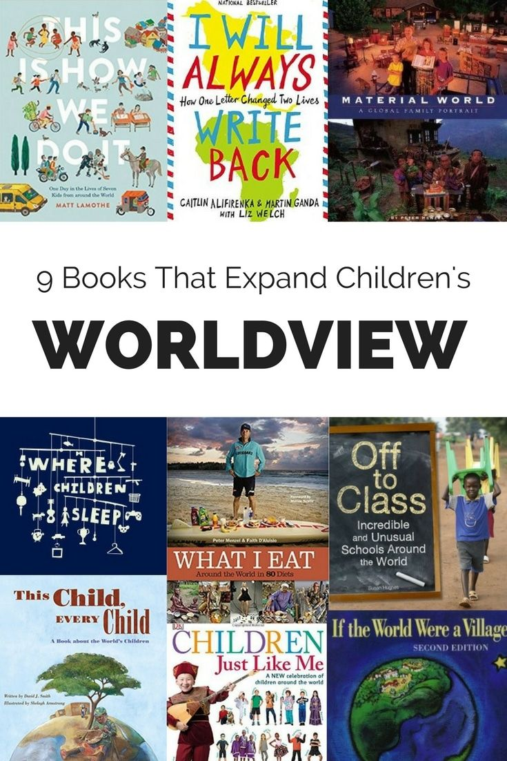 Children will better understand the diversity and uniqueness of other cultures of the world with these nine books.