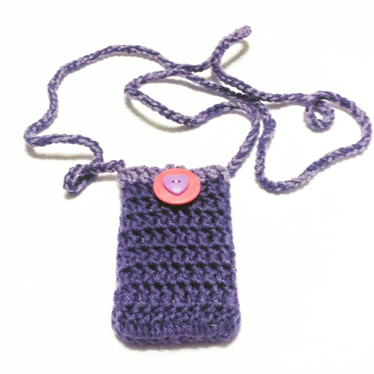 Another crochet phone cover created and added to my listing.