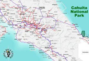 Cahuita National Park Location