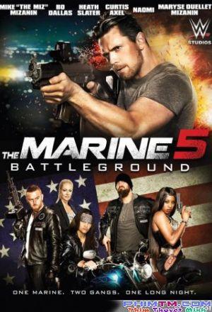 Bộ Phim : Lính Thủy Đánh Bộ 5: Quyết Chiến ( The Marine 5: Battleground ) 2017 - Phim Mỹ. Thuộc thể loại : Phim Hành Động Quốc gia Sản Xuất ( Country production ): Phim Mỹ   Đạo Diễn (Director ): George MendelukDiễn Viên ( Actors ): Max Irons, Samantha Barks, Terence StampThời Lượng ( Duration ): 91 phútNăm Sản Xuất (Release year): 2017Jake Carter một thủy quân lục chiến sau khi thu nghĩa vụ ở Trung Đông. Anh