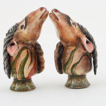 Ardmore Ceramics:  Eland Salt And Pepper