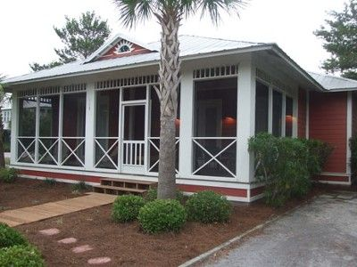 Seacrest Beach North Vacation Rental - VRBO 26281 - 4 BR Seacrest House in FL, Great Ranch with Screened in Front Porch