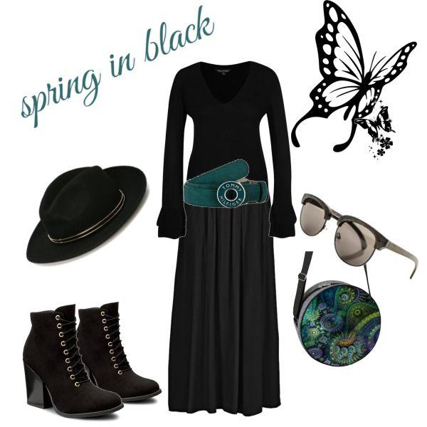 spring in black
