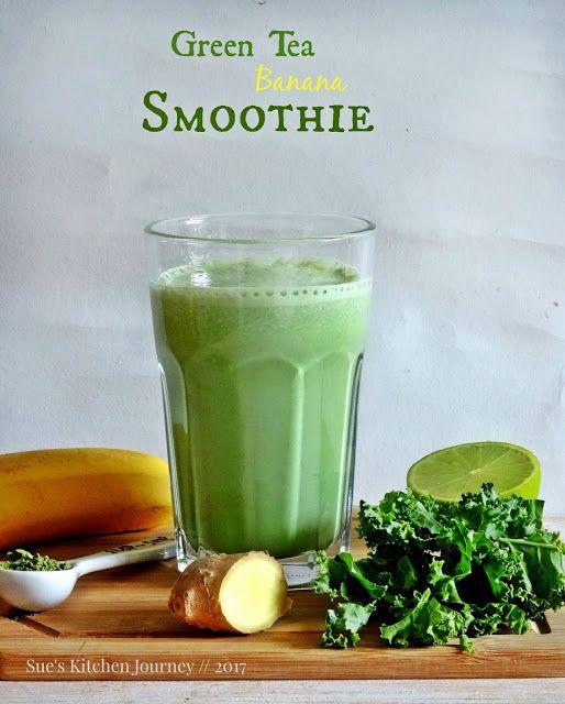 Green Tea Banana Smoothie