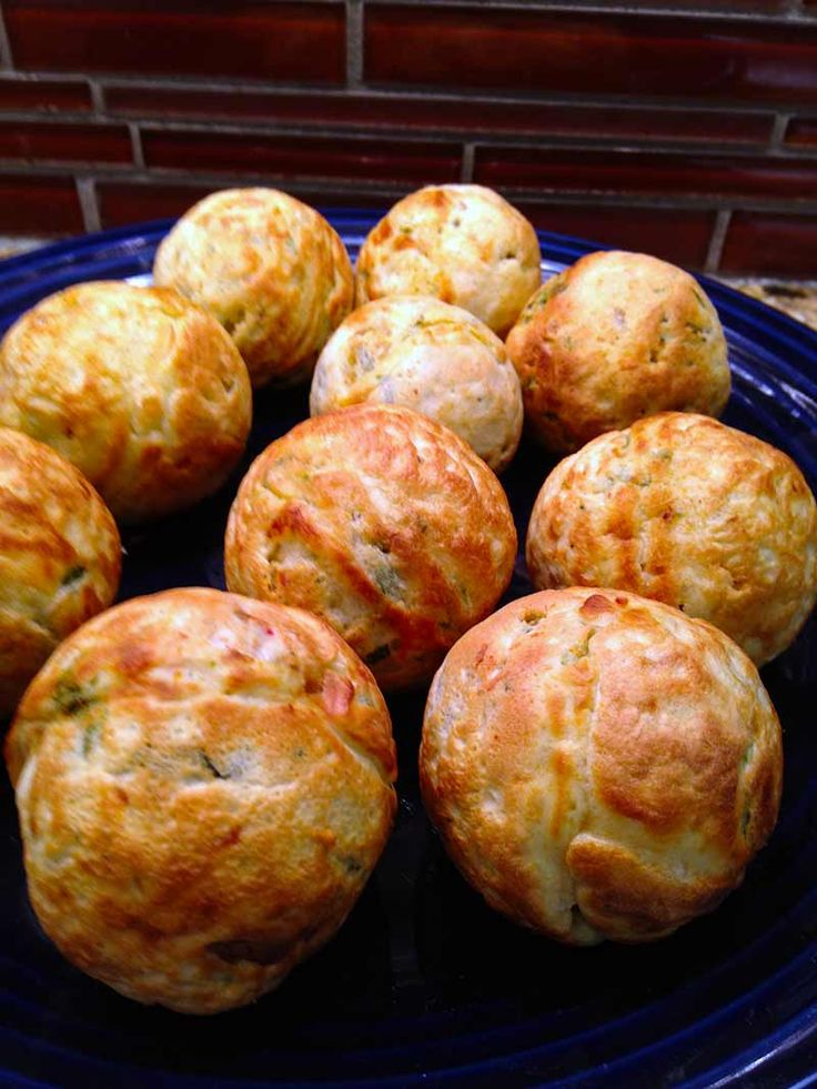 Savory Aebleskiver | This is one of those recipes that once you're done cooking, you won't want to share with anyone. So, be prepared to make two batches.