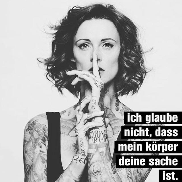 Jennifer Weist/Jennifer Rostock: »#hengstin Merch: Link in der Bio! «