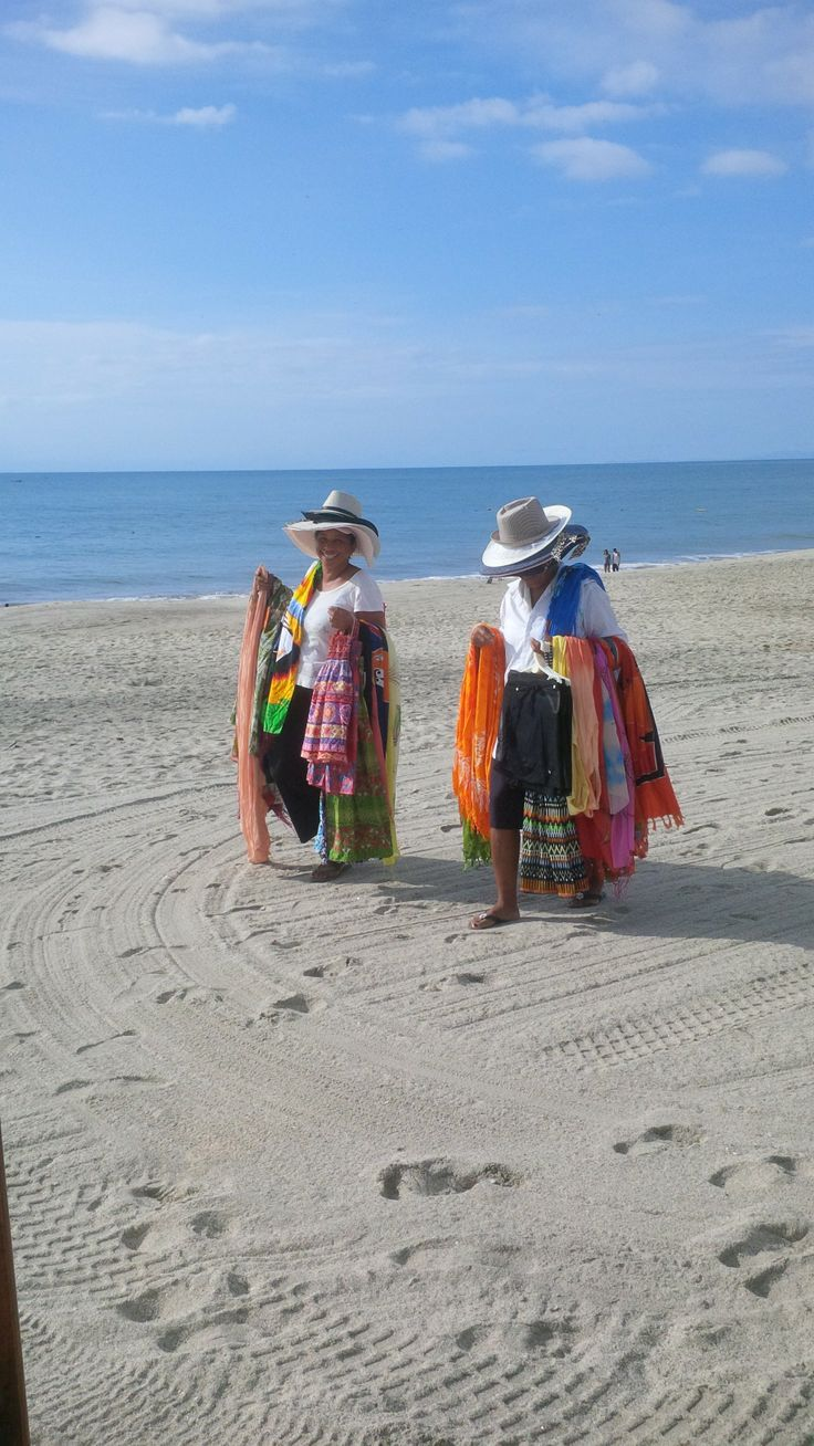 Vendors on the beach at the Royal Decameron Panama (not aggressive at all).