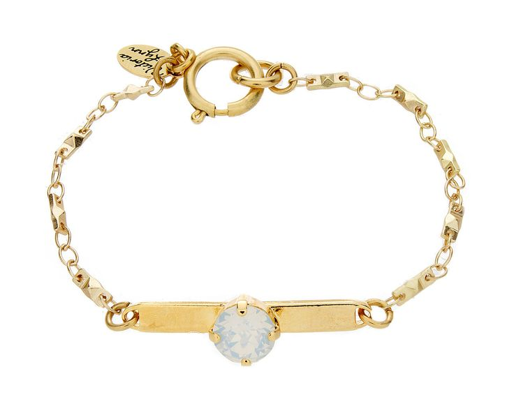 "Victoria Lynn ""Bar Bracelet"" Crystal AB from High Stylin' Boutique"