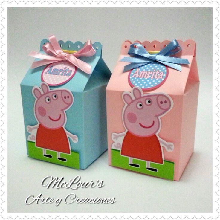 Peppa pig box candy