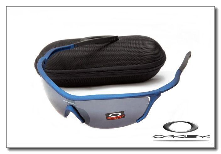 Oakley m frame sunglasses matte blue / black iridium online $13.00