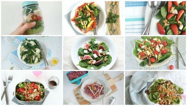 Ik geef je mijn persoonlijke tips om een gezonde lunch salade te maken. Lekker en voedzaam en hiervoor doorloop je 5 tot 6 stappen.