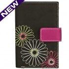 Safe ID Daisy Tri-Fold Wallet