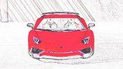 "New artwork for sale! - "" Lamborghini Aventador Lp750 4 Superveloce  by PixBreak Art "" - http://ift.tt/2kQx2C6"