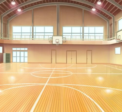 Quadra De Esportes Anime Pesquisa Google Paisagem