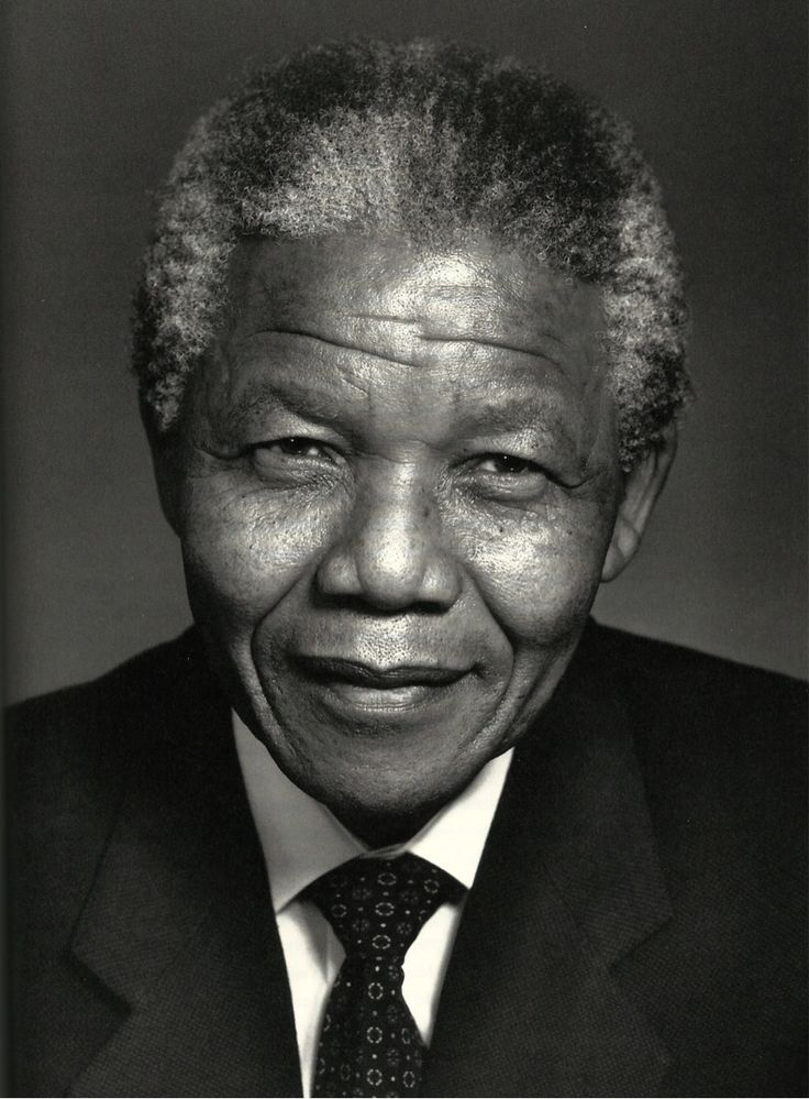 Nelson Mandela by Yousuf Karsh #blackandwhite #legend