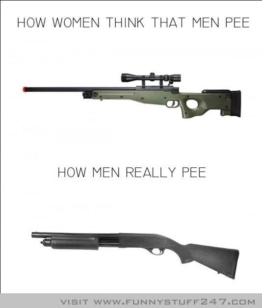 How Women Think Men Pee Vs How They Actually Pee