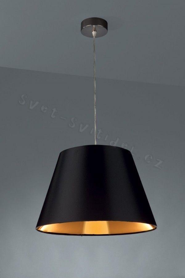 Philips Massive 40436/30/10 - Lampa wisząca BABBAGE 1xE27/60W/230V czarny