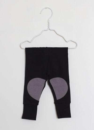 PAPU mustat leggingsit