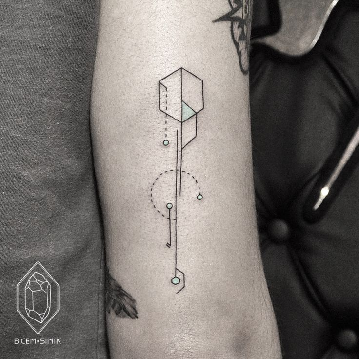 Stunning Modern Dot and Line Tattoos by Bicem Sinik ...