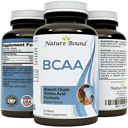 Best BCAA Supplement - Amazing Bodybuilding + Pre Workout Results - Pure  Branched Chain Amino Acids - L-Leucine + Food Grade Formula for Men and  Women 60 ...