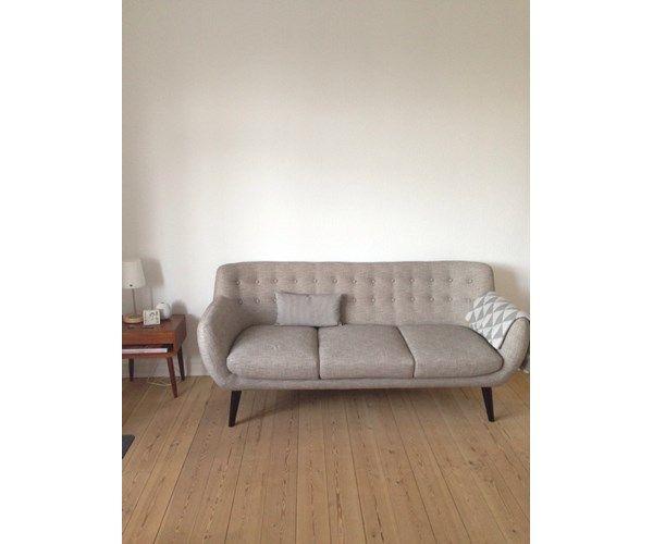 Sofa, uld, 3 pers. , Retro, Lækker HELT NY sofa sælges.