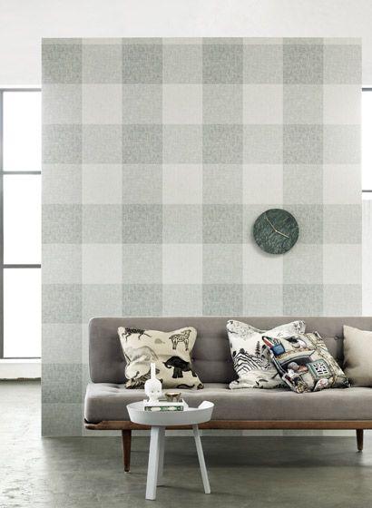 Sandberg Tapete Charlotta-2057 Claudias Königreich Pinterest - retro tapete wohnzimmer