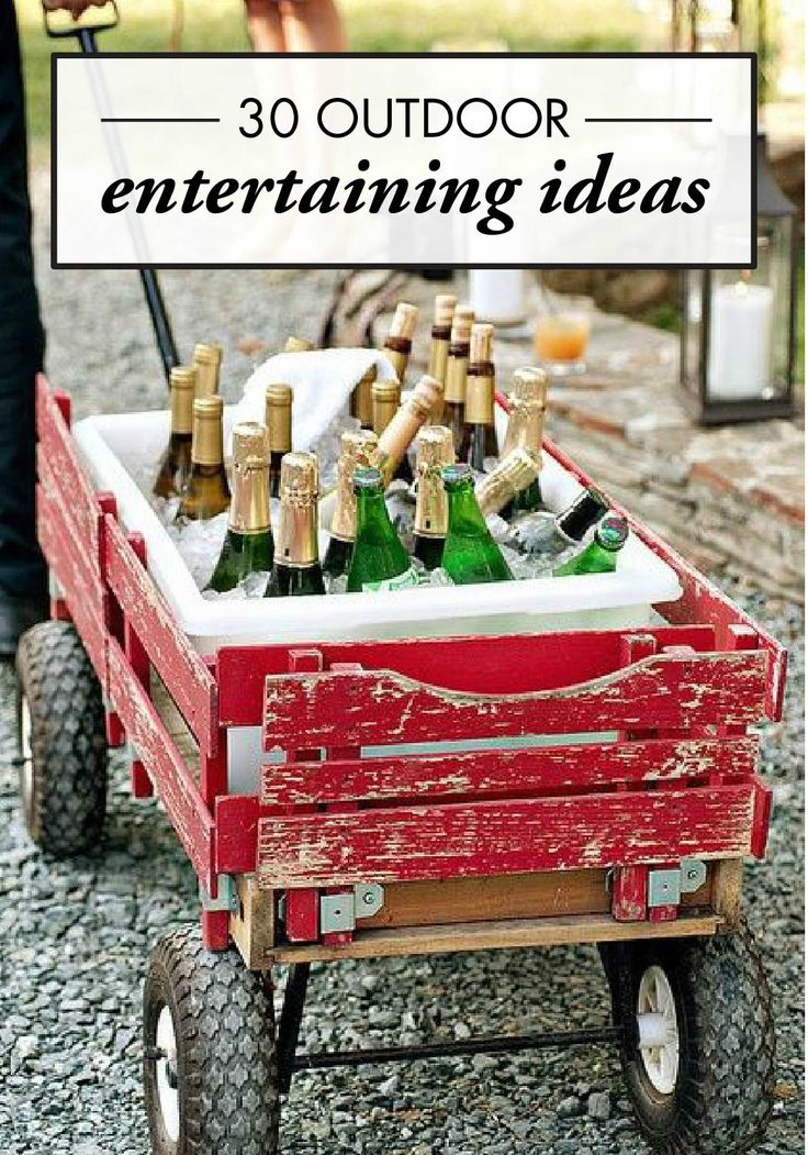 30 Amazing Outdoor Entertaining Ideas From Pinterest Appetizers TableOutdoor Party