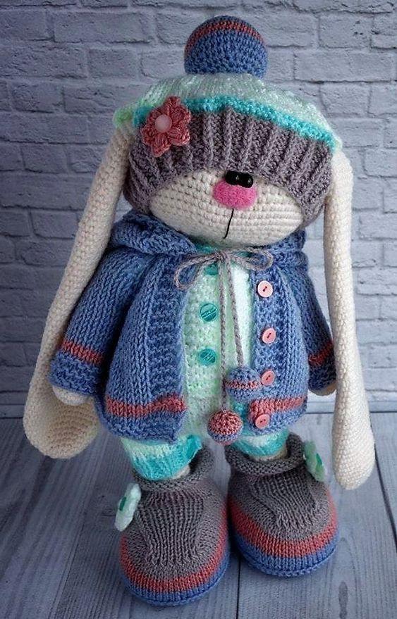 cute crocheted amigurumi doll patterns free | Crochet, Knit and Hook
