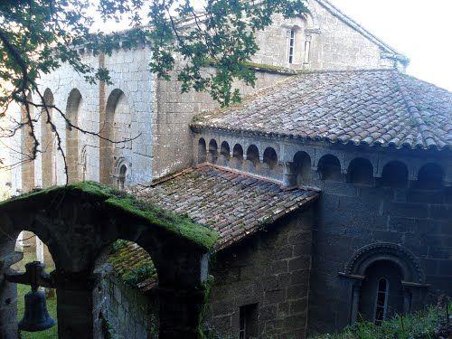 Mosteiro de Santo Estevo de Ribas de Miño  Monasterios  Pinterest