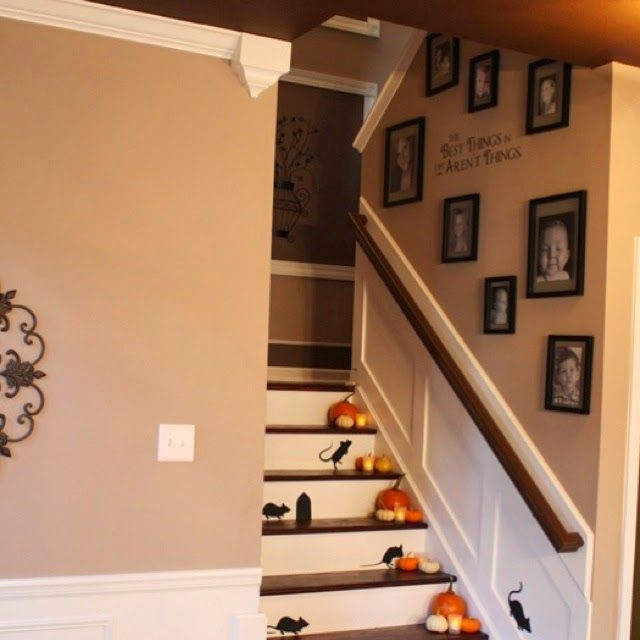 Creative Staircase Design Ideas: 50 Best Images About Staircase Wall Decorating Ideas On
