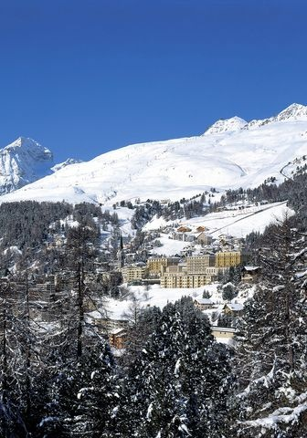 The Kulm Hotel St. Moritz is conveniently located in the heart of St. Moritz.