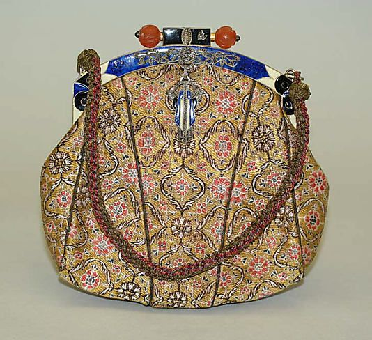 French purse, mid-1920s