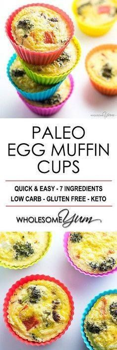 Egg Muffin Cups Reci Egg Muffin Cups Recipe  Paleo Breakfast...  Egg Muffin Cups Reci Egg Muffin Cups Recipe  Paleo Breakfast Egg Muffins - Healthy egg muffin cups are the perfect grab-and-go breakfast or snack. This method makes the best low carb paleo breakfast egg muffins recipe ever! Recipe : http://ift.tt/1hGiZgA And @ItsNutella  http://ift.tt/2v8iUYW