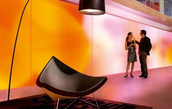LuminousTextile verlichte stoffen panelen van Kvadrat en Philips