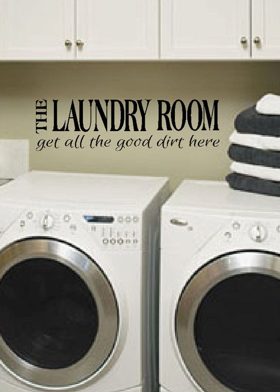 Laundry  Laundry room decor  The Laundry Room get by WildEyesSigns,