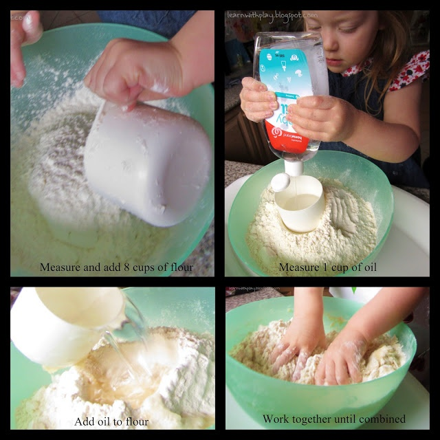how to make moon dough with conditioner